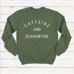 Quarantine Sweatshirt, Social Distance, Introvert